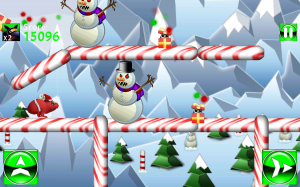 Dodge snowballs and defeat evil snowmen to rescue the cute baby hamsters